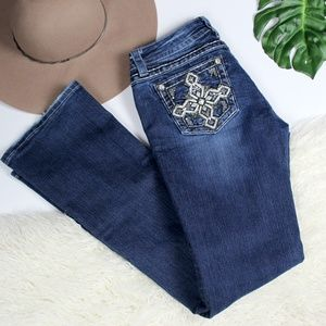Miss Me Jeans Size 30 Signature Boot
